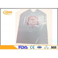Buy cheap Water Proof Adult Disposable Lobster Plastic Bib 38*50 cm Customized product
