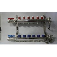Buy cheap Radiant Floor Manifold For Underfloor Heating 304 Stainless Steel product