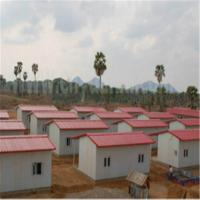 Buy cheap Beautiful Prefabricated Building for Cango Relief Sheds in Afri Portable Emergency Shelter product