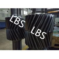 Buy cheap Alloy Steel Double Crossed Helical Gear Shaft For Heavy Duty Machinery product