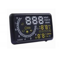 Buy cheap W02 Hud Car Head Up Display Projector Yellow White , Powertrain Universal Heads Up Display product