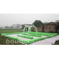 Buy cheap Inflatable Zorb Ball Track , Zorb Orbit With 0.6mm PVC Tarpaulin product