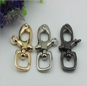 Buy cheap Novelty design handbag 20 mm nickel color metal spring trigger snap hooks for leather strap product