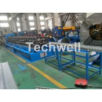 Buy cheap 15 KW Tray Cable Cold Roll Forming Machine With 18 Stations Forming Roller Stand product