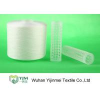 Buy cheap Strong TFO White Dyed Polyester Spun Yarn For High Speed Sewing Machine product
