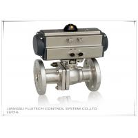 Buy cheap Double Action Stainless Steel Motorized Ball Valve / Two Piece Ball Valve product