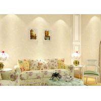 Buy cheap Gold and Gray floral removable wallpaper , modern art wallpaper home design product