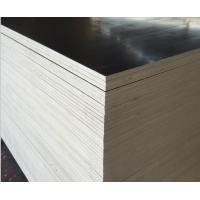 Buy cheap 15mm Black Brown Concrete Shuttering Plywood One Time Hot Press Poplar Core product