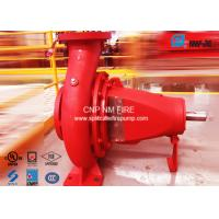 Buy cheap NFPA-20 Centrifugal End Suction Fire Pumps One Stage For Oil Terminals product