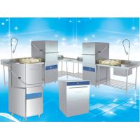 Buy cheap Stainless Steel Commercial Dish Machine / Large Commercial Dishwasher product