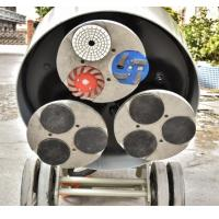 Buy cheap Planetary System Stone Floor Grinder With 9 Heads 220V Single Phase product