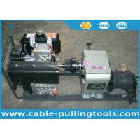 Buy cheap 3 Ton Fast Speed Diesel Cable Winch Puller For Overhead Line Transmission product