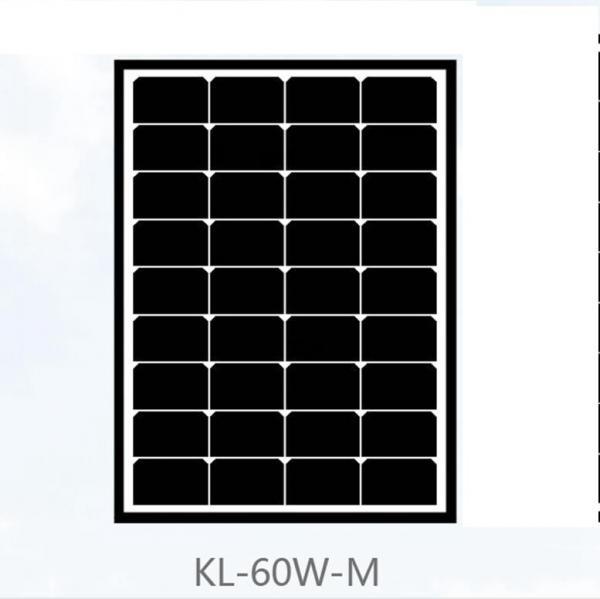 60 watt mono crystal solar panel 17 5v power voltage black roof tiles for home 107539097. Black Bedroom Furniture Sets. Home Design Ideas