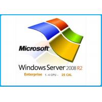 Microsoft Windows Server 2008 R2 Edition 1-8cpu With 25Clients Genuine Key License