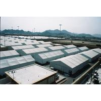 Buy cheap Durable Large Storage Tent , Aluminum Clear Span Structure Tents For Industry Warehouse product