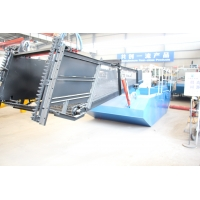 Buy cheap Small Carbon Steel 2000m2 Aquatic plant Harvester With Storage Cabin And Razor Knives product
