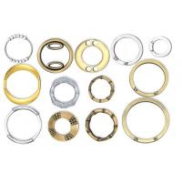 China Golden O Ring Handbag Accessories Round For Bags / Suitcases on sale