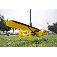 Buy cheap Piper J3 Cub Radio Controlled Ready to Fly RC Planes with 2.4Ghz 4 Channel Transmitter product