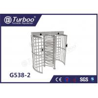 Buy cheap Fingerprint Scanner Full Height Turnstile Gate G538-2 OEM Service Turnstile Motor product