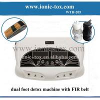 Buy cheap Dual ion detox foot bath with FIR belt relax foot spa bath from wholesalers
