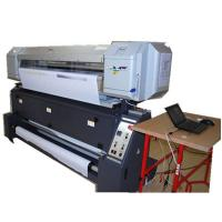 China Automatic 1.6M CMYK Digital Fabric Printing Machine For Banner Flag Printing wholesale