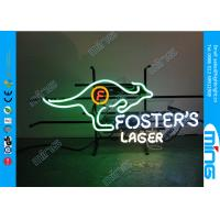 Buy cheap Multi-color Casino Bar Neon Sign Lamp / Glass Led Neon Signs product