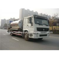 Buy cheap Truck Mounted Type Liquid Asphalt Tanker With Pump Output 5 Ton / H product