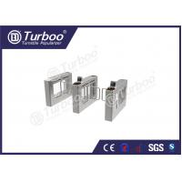 Buy cheap Durable Pedestrian Barrier Gate Automatic Bidirectional Face Identification product