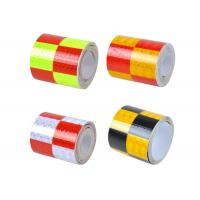 Quality Traffic Cone Honeycomb Reflective Tape Coated With Pressure Sensitive Adhesive for sale