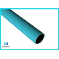 China Composite Pipes Use For Production Line Blue Plastic Coated Steel Pipe on sale