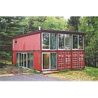 Buy cheap Customized Movable Container Modular Flat Pack Prefab House Plywood + Pvc Floor product