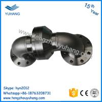 Quality DN100 Stainless Steel double elbow flange connection Water Swivel Joint/ Rotary for sale