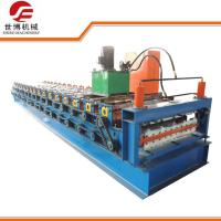 High Efficiency Roofing Sheet Roll Forming MachineFor 0.3 MM Thickness Sheet