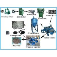 Buy cheap High Output Tire Recycling Machine Industry Floor Area 200㎡ - 500㎡ product