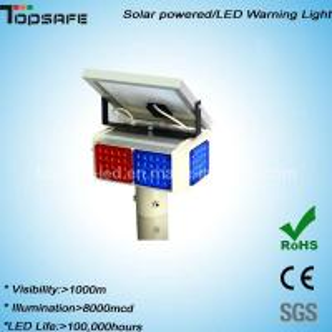 Buy cheap New Design LED Solar Powered Warning Flshing Light product