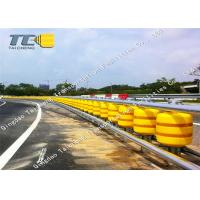 Buy cheap Anti Corrosion EVA Roller Barrier Fence Roadside Guardrail For Tuner Way product