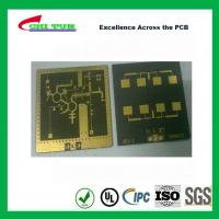Buy cheap 3 Layer TLY-9+HT1.5 SOFT GOLD Smt PCB Assembly Service with Black Solder product