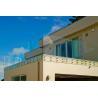 Buy cheap Trilhos de vidro montados lado do sistema do balcão, suporte isolador fixado na parede from wholesalers