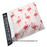 Buy cheap Flamingo cartoon Plastic Material Poly Mailing Bags Gravure Printing Lightweight For Postage Savings product