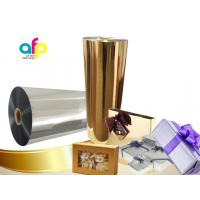 Buy cheap Chemically Treated Polyester Metallized Thermal Laminate Film for Offset Printing product