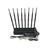 Buy cheap High Power Cell Phone Signal Jammer , Cell Phone Blocker Jammer Eight Antennas product