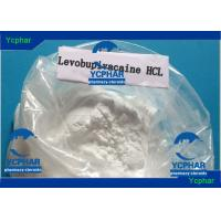 Buy cheap Levobupivacaine Hydrochloride rINN 27262-48-2 Liposuction Local Anaesthetic Drugs from wholesalers
