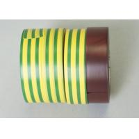 Buy cheap 0.115MM Thickness Matte Surface PVC Electrical Tapes Black Rubber Adhesion product