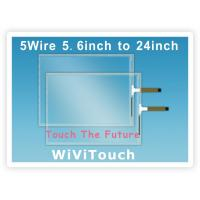 Buy cheap 5.6′--24 USB 5 Wire Resistive Touch Screen product
