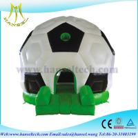 China Hansel indoor rock climbing wall,inflatable play area,happy hop bouncy castle on sale