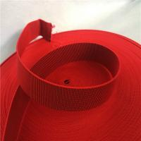 Quality Outdoor Furniture Cover Type Elastic Upholstery Webbing in red color for sale