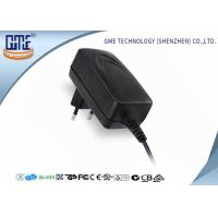 Buy cheap 100-240V 50Hz / 60Hz 12V 1.25A 12v Power Adapter Wall Mount With EMC / ROHS product