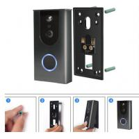 Buy cheap Smart Doorbell Home Security Wifi Video Camera with Mobile Doorbell Ring,16GB Micro SD Card, 2-Way Talk, Night Vision product
