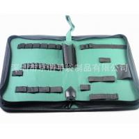 Buy cheap Home Small Soft Canvas Tool Bag With14 Elastic Bands 32*21*5.5 Cm product
