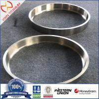 China GR2 titanium forged ring with large diameter titanium ring with ultrasonic test on sale